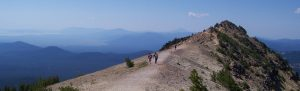 Trail in Crater Lake NP