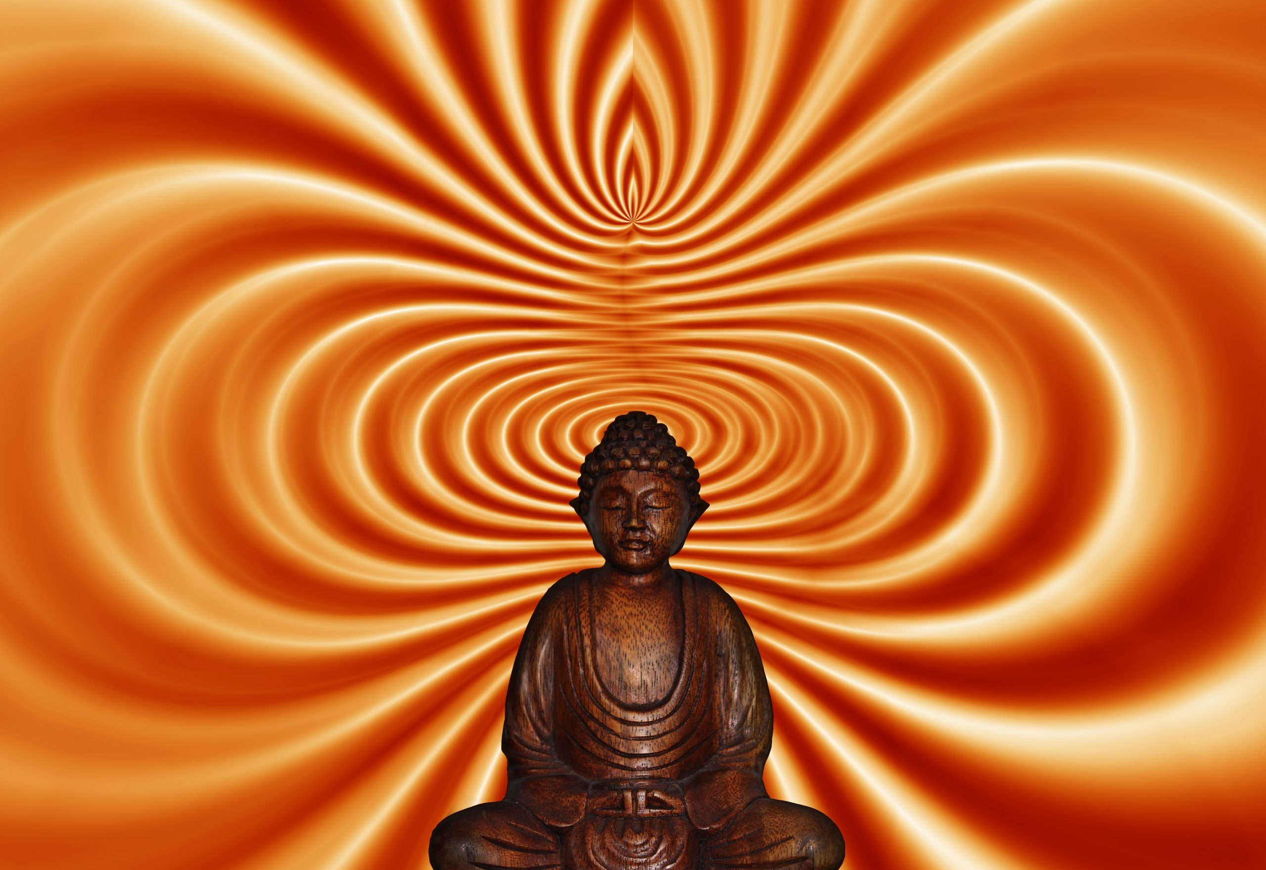 Orange, Gautama Buddha, Meditation